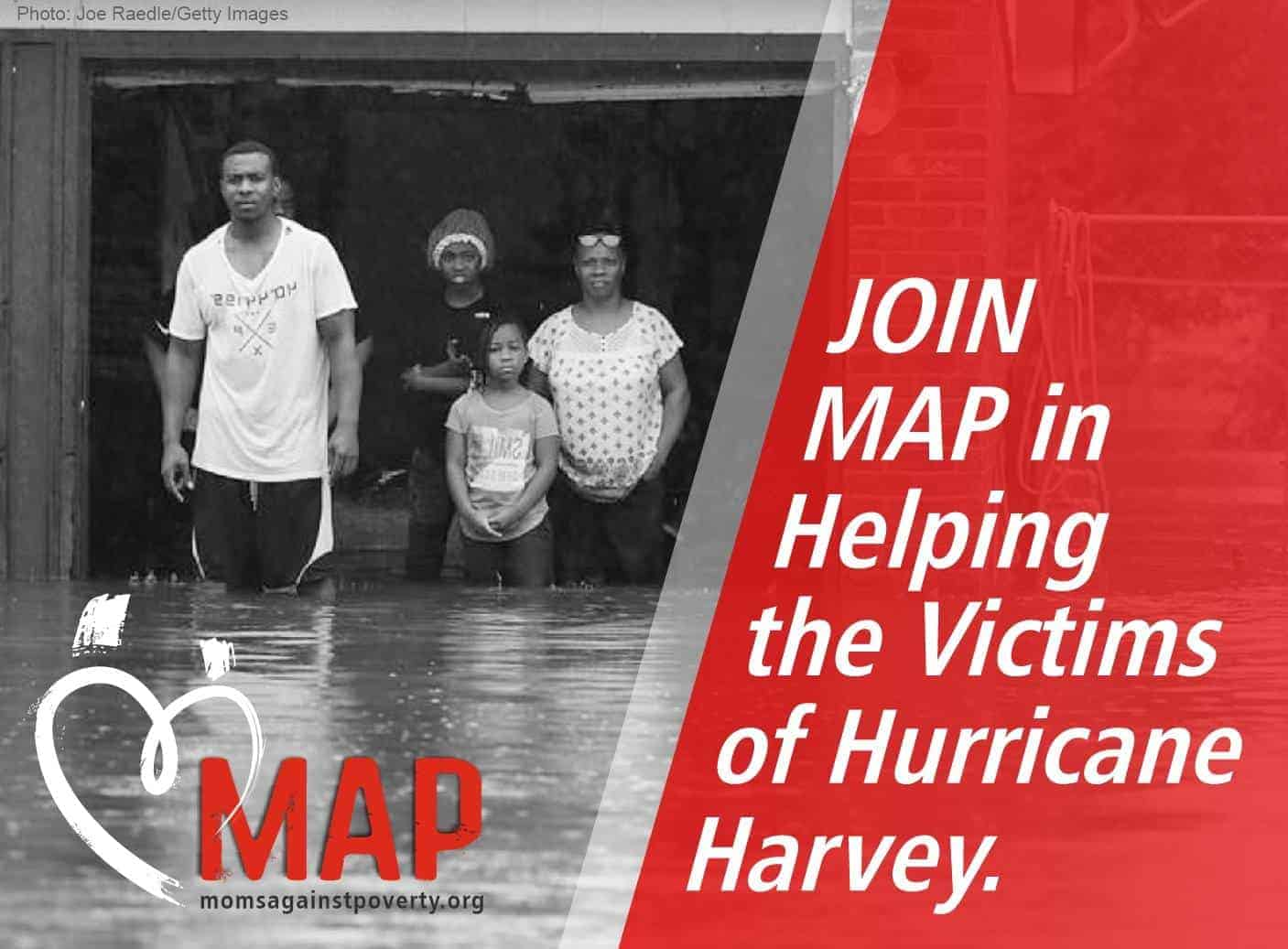 <b>JOIN MAP</b> in Helping the Victims of <b>Hurricane Harvey</b>