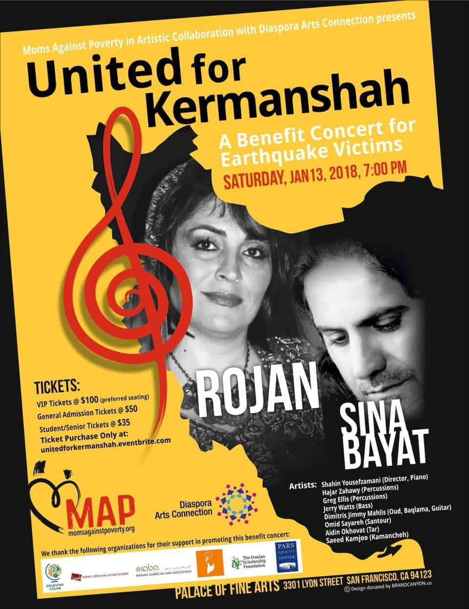 <b>United for Kermanshash</b> | A Benefit Concert for Earthquake Victims