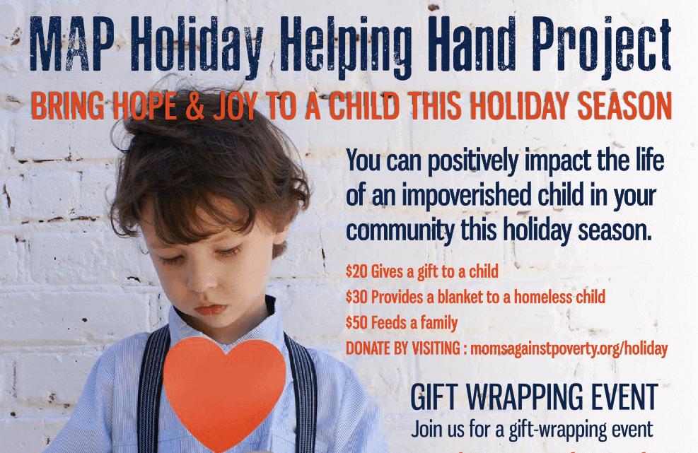 MAP Holiday Helping Hand 2019
