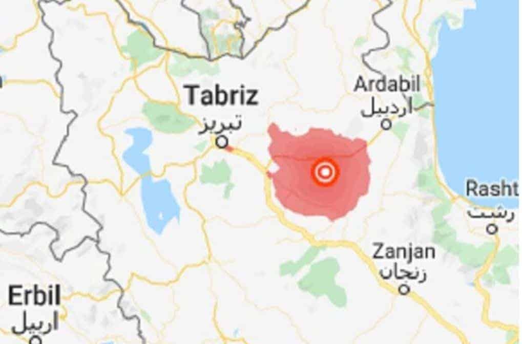 MAP Iran Earthquake 2019 Campaign